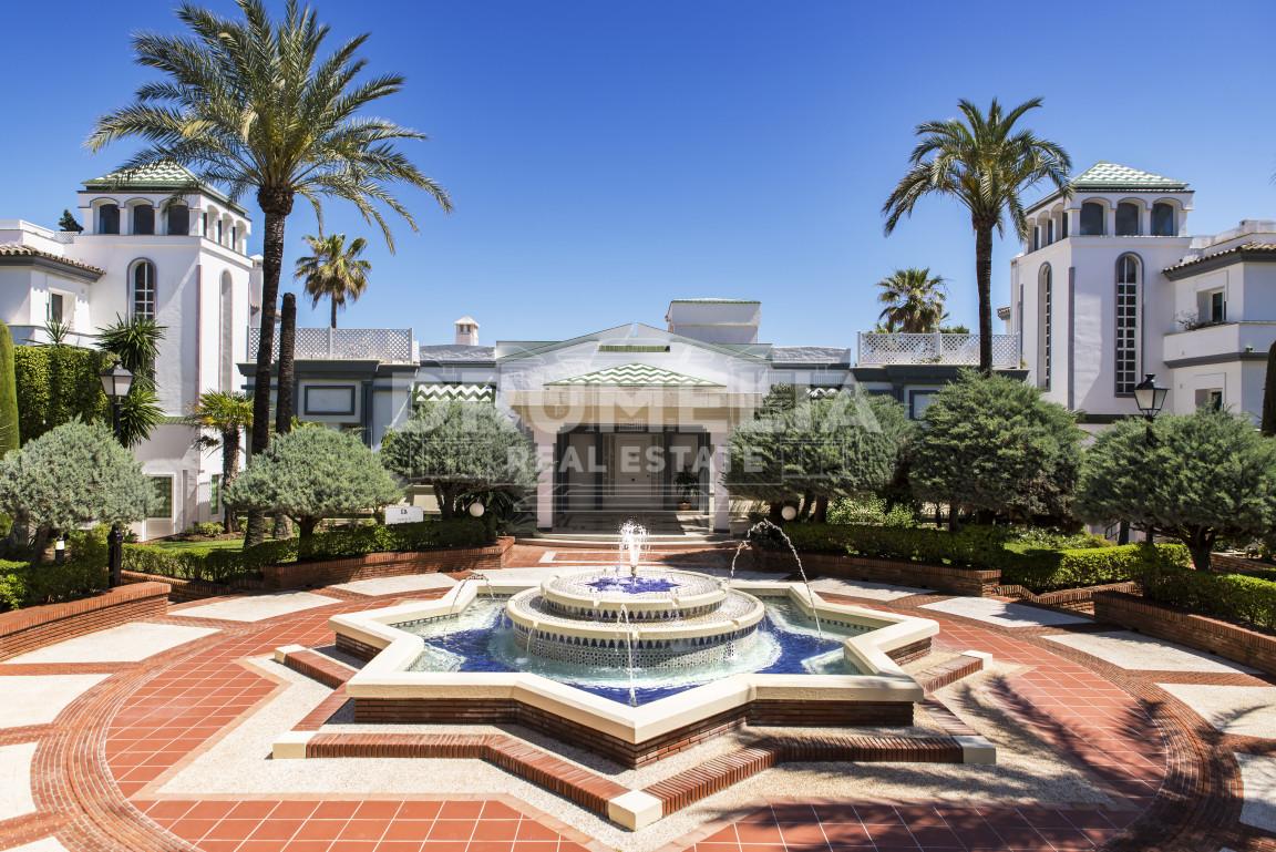 Excellent Beach Front Garden Level Apartment, Dominion Beach, New Golden Mile, Estepona