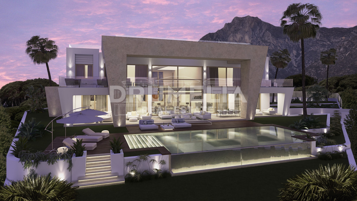 "Marbella Golden Mile, Brand New Magnificent Modern Villa ""Los Angeles"", Sierra Blanca, Golden Mile, Marbella"