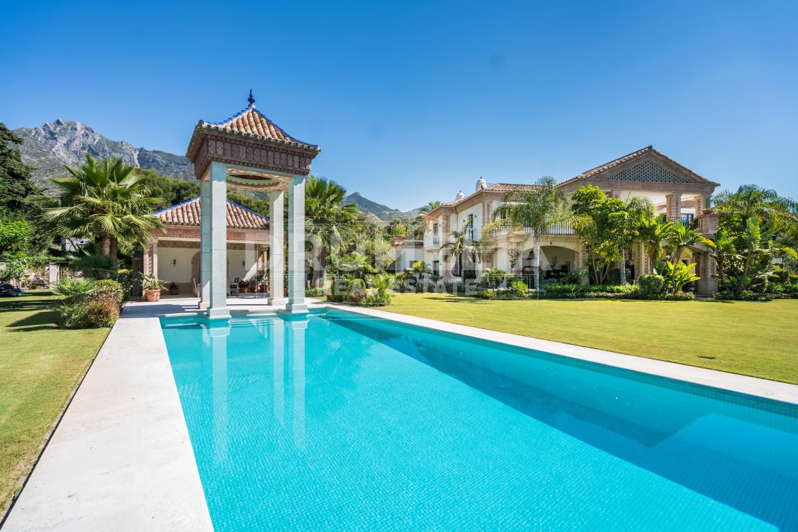 Marbella Golden Mile, Super Stunning Palatial Villa in Quinta de Sierra Blanca, Marbella Golden Mile (Marbella)