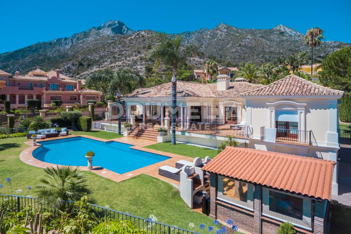 Marbella Golden Mile, Stunning villa in the prestigious and gated community of Sierra Blanca