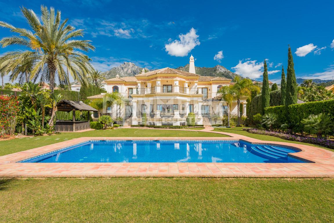 Marbella Golden Mile, Sunny villa in Sierra Blanca, Golden Mile