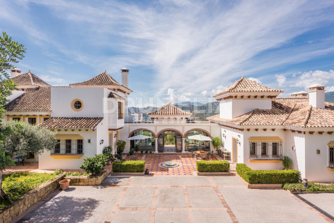 Benahavis, Fabulous Mediterranean Mansion in La Zagaleta, Benahavis