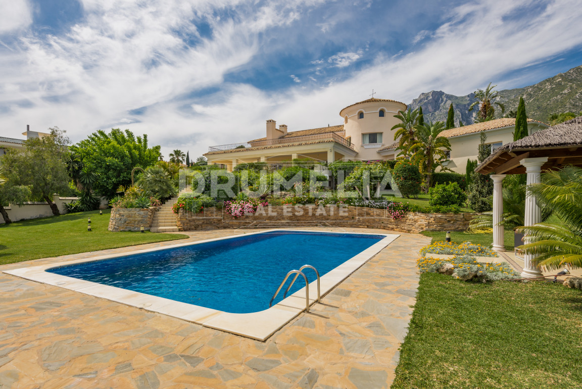 Marbella Golden Mile, Amazing villa in Cascada de Camoján, Golden Mile
