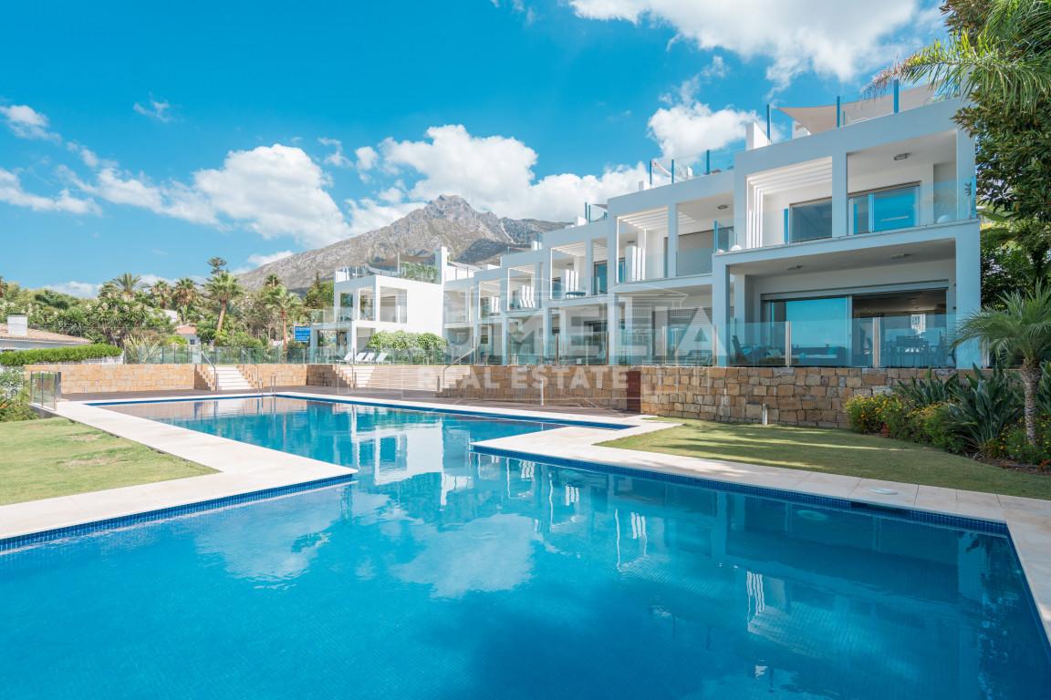 Marbella Golden Mile, Modern Townhouse in Vistas Marinas, Golden Mile