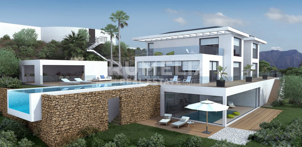 Benahavis, Spectacular New Modern Luxury Villa (project) in La Zagaleta Golf & Country Club, Benahavis