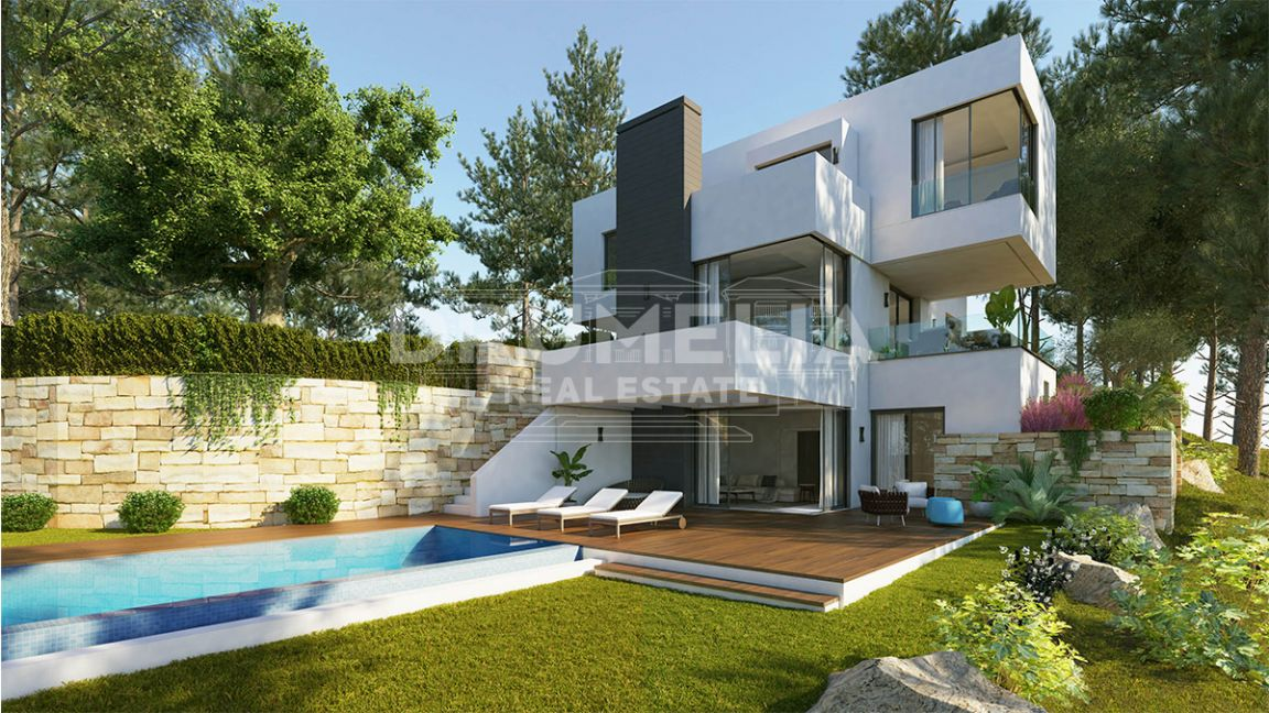 Benahavis, Brand New Stylish Modern Luxury Villa, Monte Mayor, Benahavis.