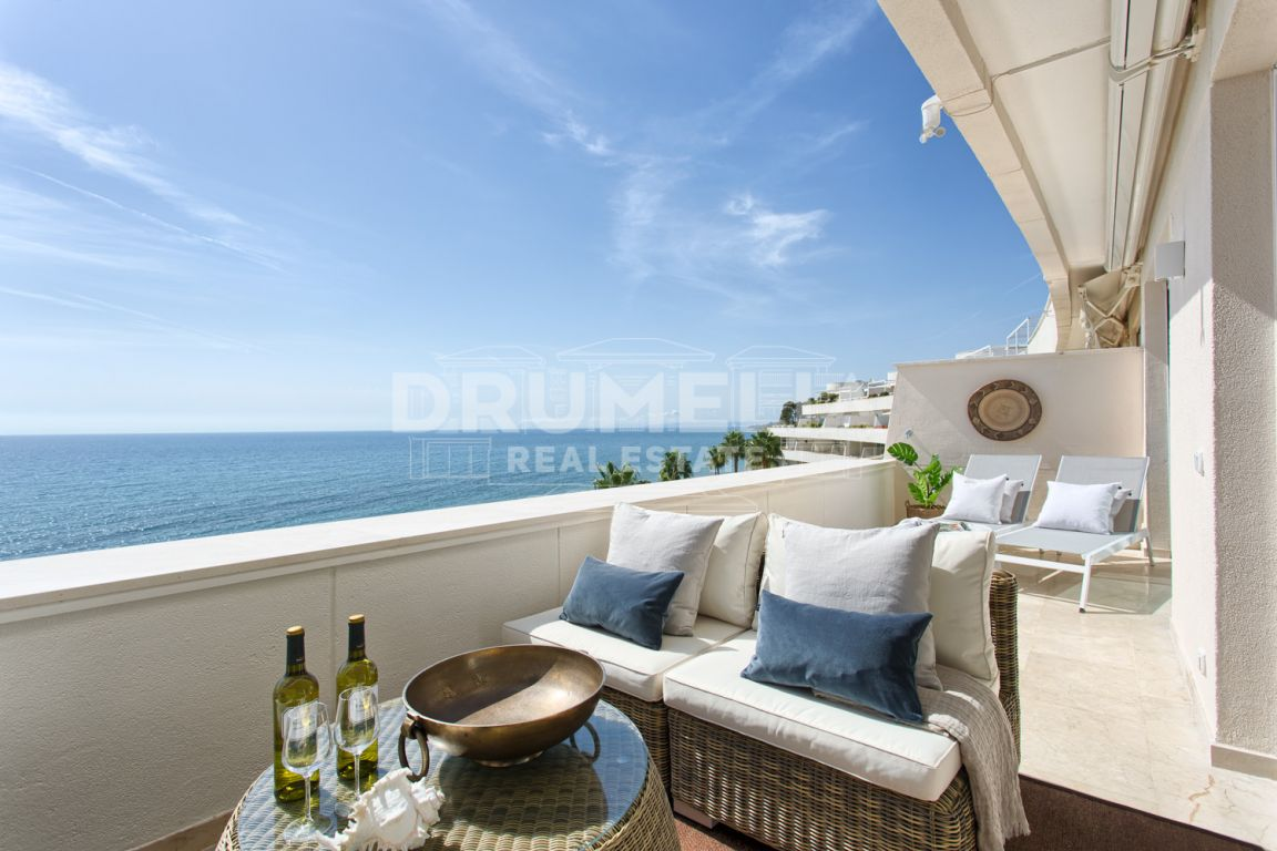 Estepona, Unique Frontline Beach Modern Luxury Penthouse, Los Granados Playa, New Golden Mile, Estepona.