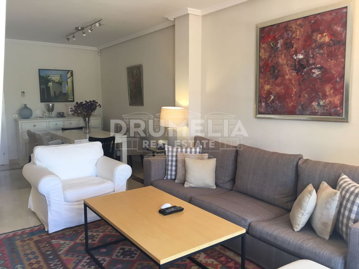 Marbella, Wonderful Garden Apartment, Marbella Town, Marbella