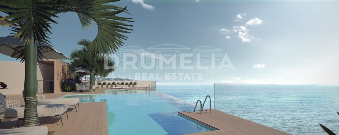 Estepona, Unique Frontline Beach New Modern Apartment, Estepona Puerto, Estepona