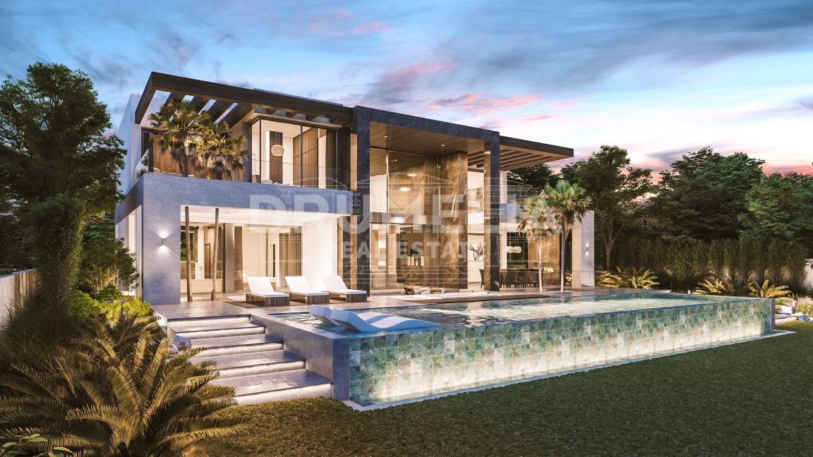 Estepona, Stylish New High-End Modern Villa, Belaire, Estepona