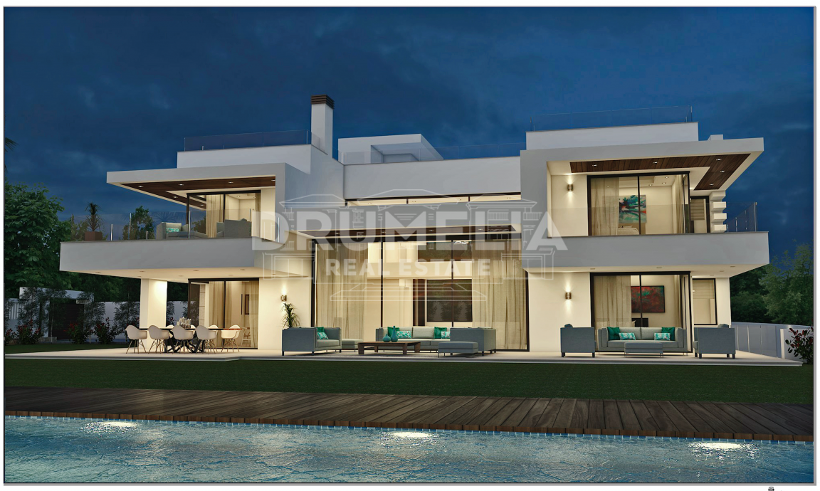 San Pedro de Alcantara, New State-of-Art Contemporary Luxury Villa (Project), Guadalmina Baja, San Pedro de Alcántara