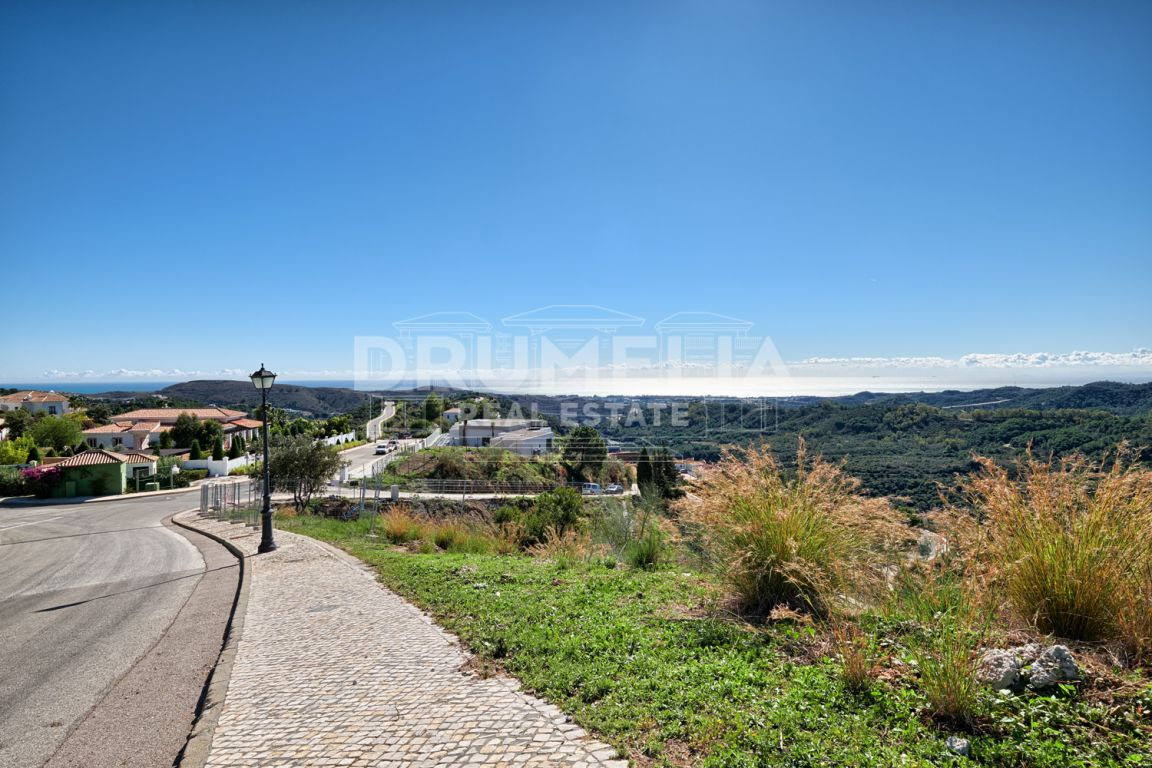 Magnificent Plot for Construction in Monte Mayor, Benahavis