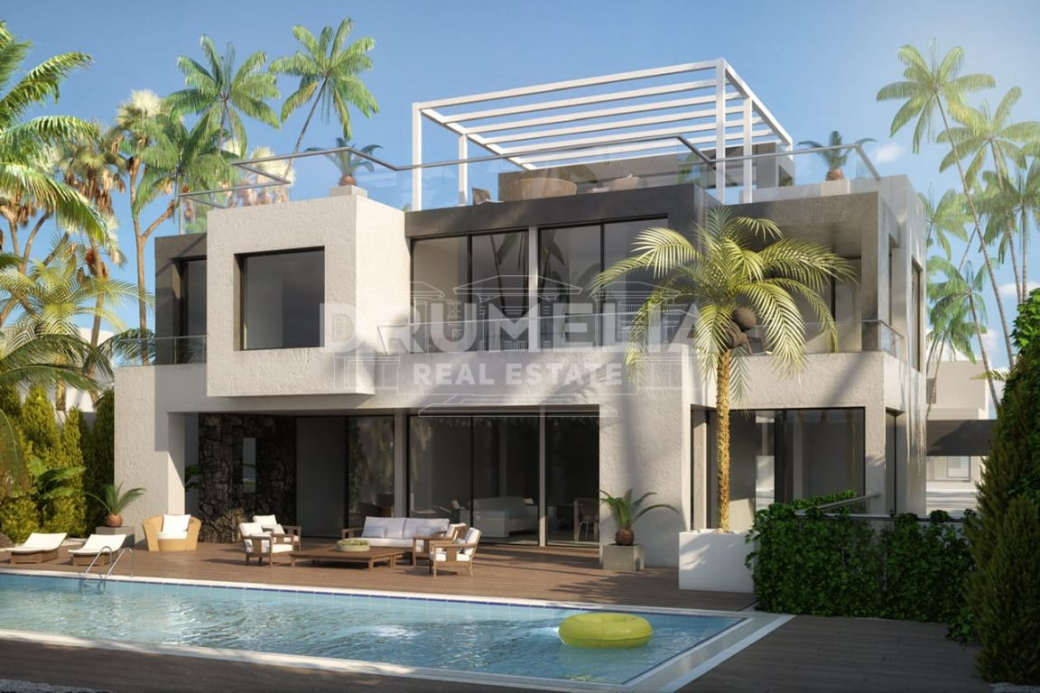 Marbella Golden Mile, New Stunning Contemporary Luxury Villa, Casablanca, Marbella Golden Mile