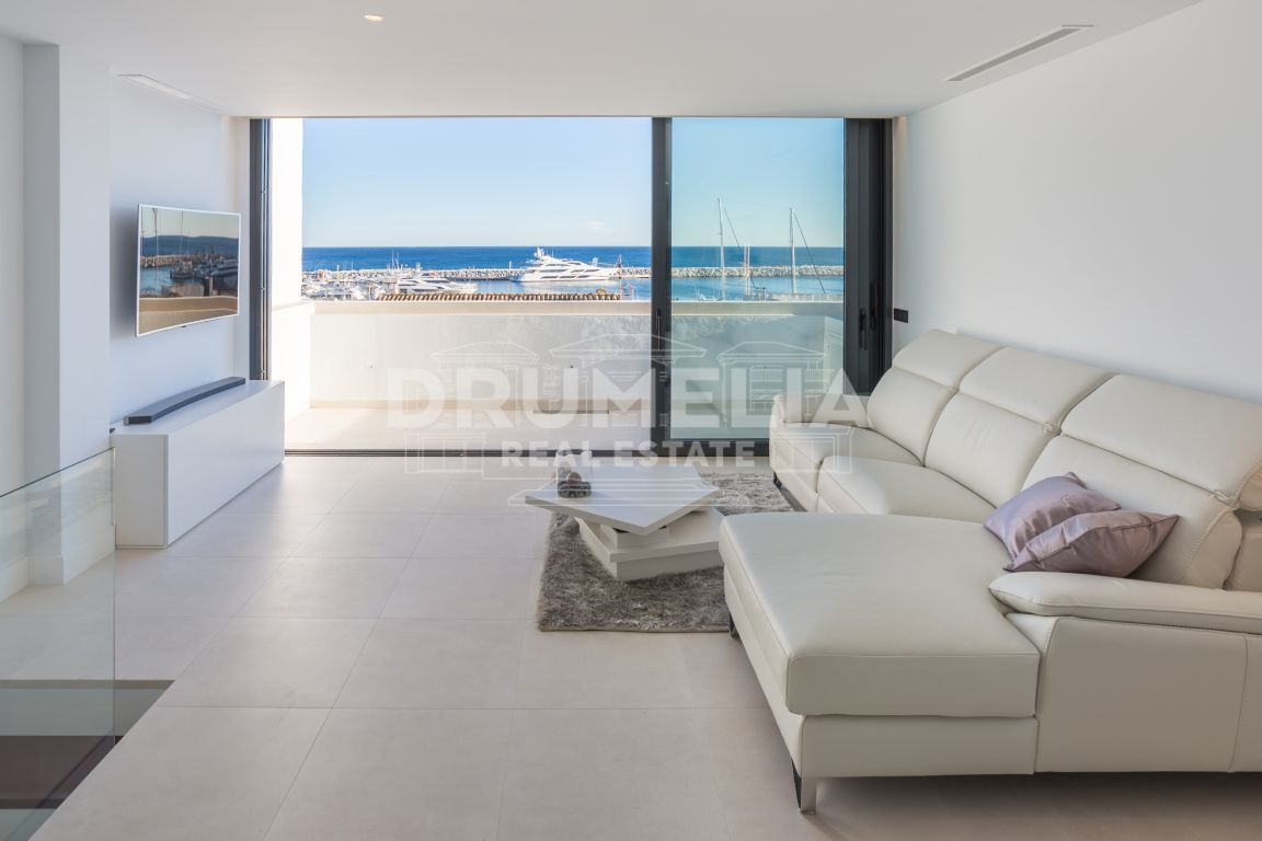 Unique High-end Contemporary Duplex Penthouse, Marbella - Puerto Banus, Marbella