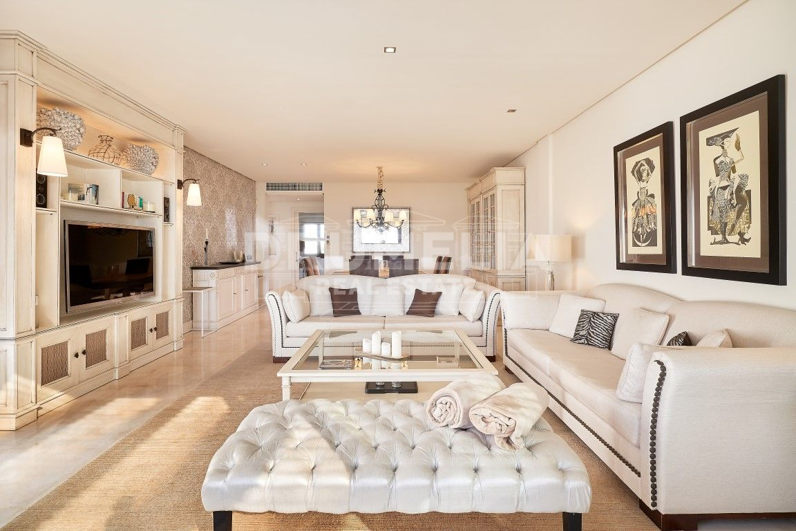 Estepona, Refined and Exquisite Frontline Beach Modern Classic Luxury Penthouse, Doncella Beach, New Golden Mile, Estepona.