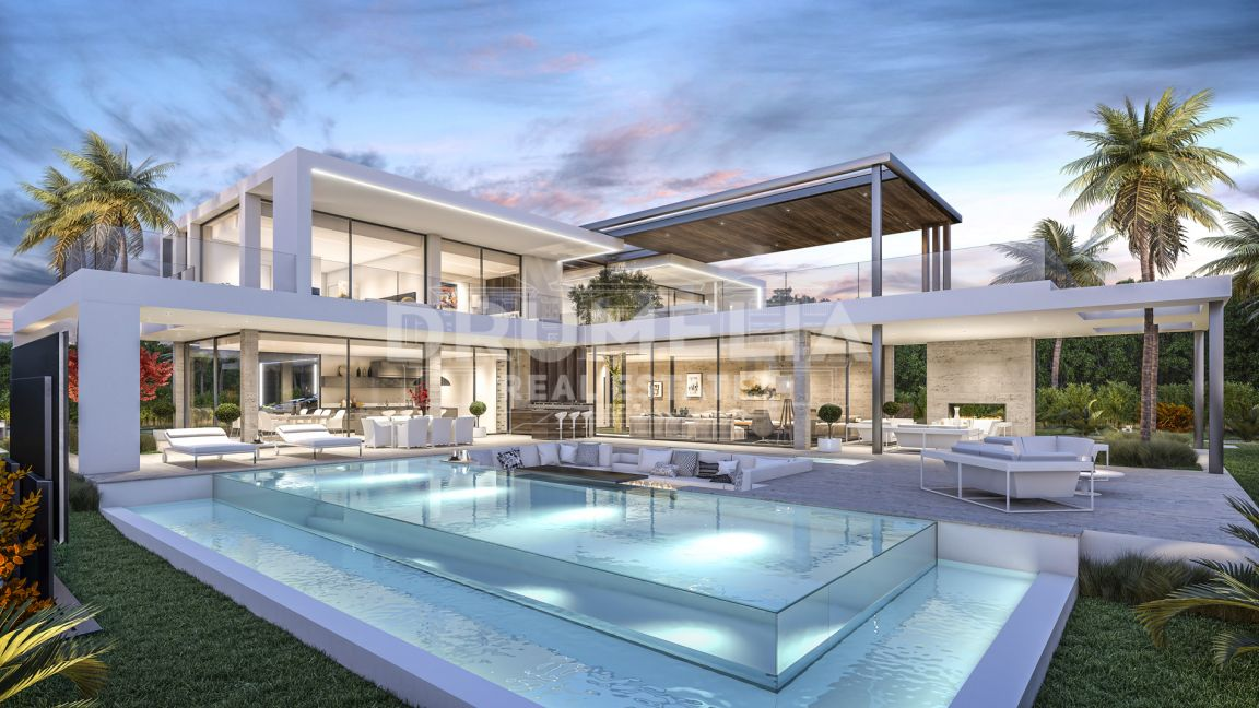 Stupendous New Modern Luxury Villa, El Paraíso Barronal, New Golden Mile, Estepona.
