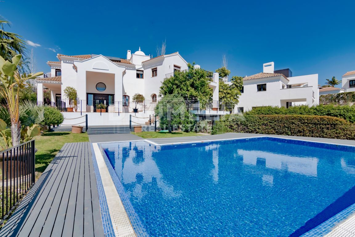Charming and Elegant Luxury Mediterranean Villa, La Alqueria, Benahavis