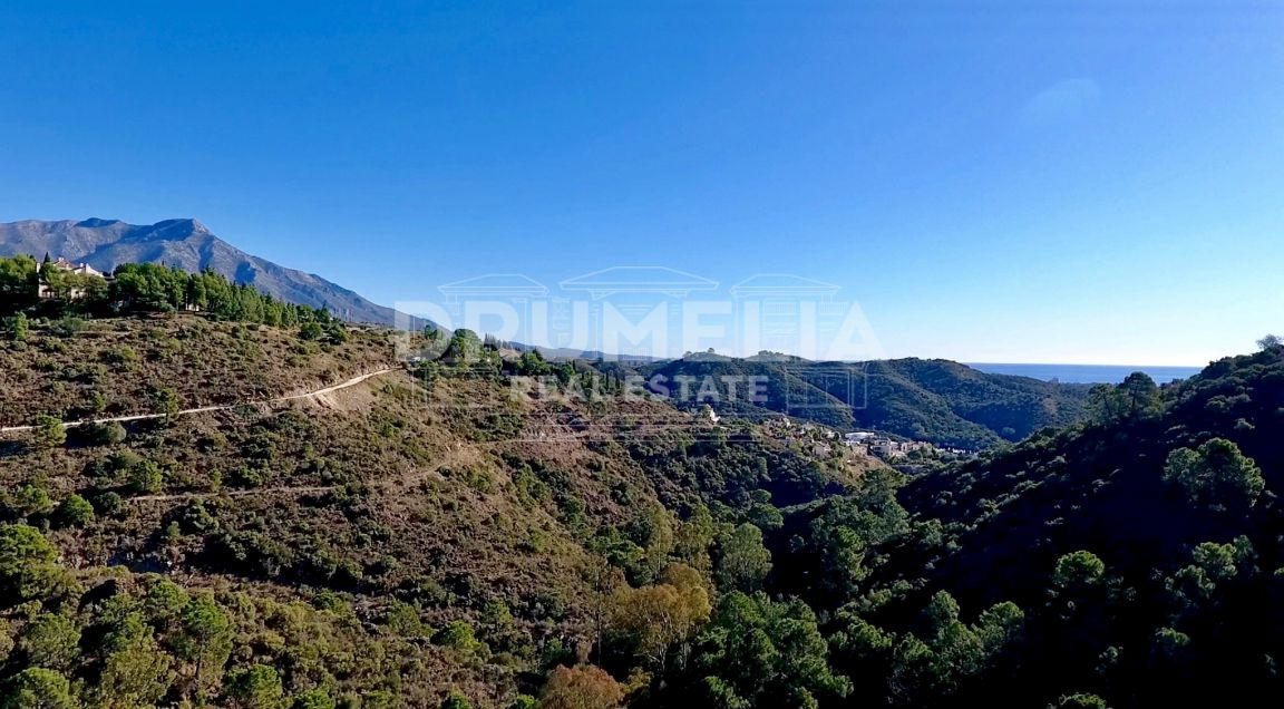 Plot With Sea Views - El Madroñal, Benahavis