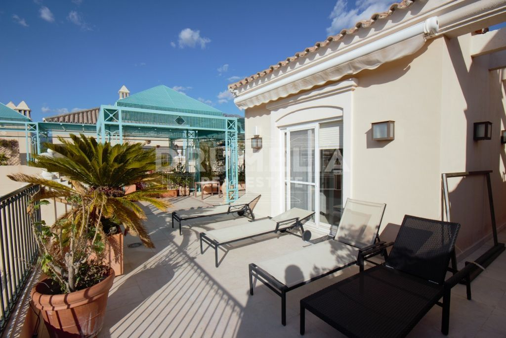 Marbella Golden Mile, Cozy Duplex Penthouse in Lomas de Sierra Blanca, Marbella Golden Mile