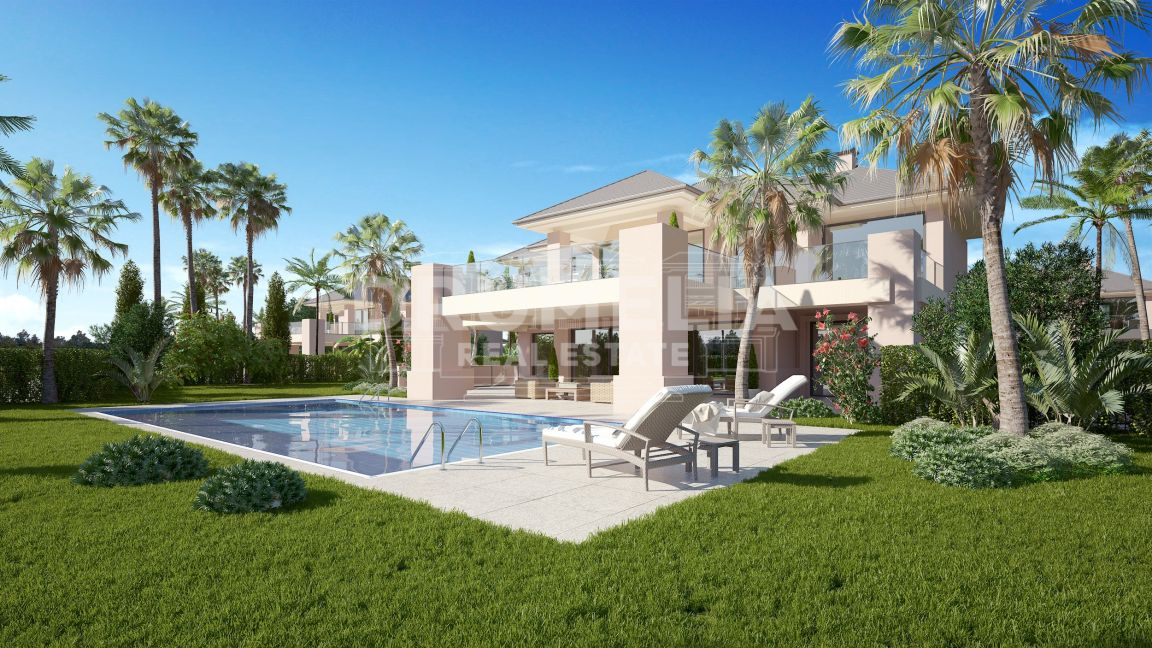 Benahavis, New Magnificent Luxury Modern Villa, Los Flamingos Golf Resort, Benahavis