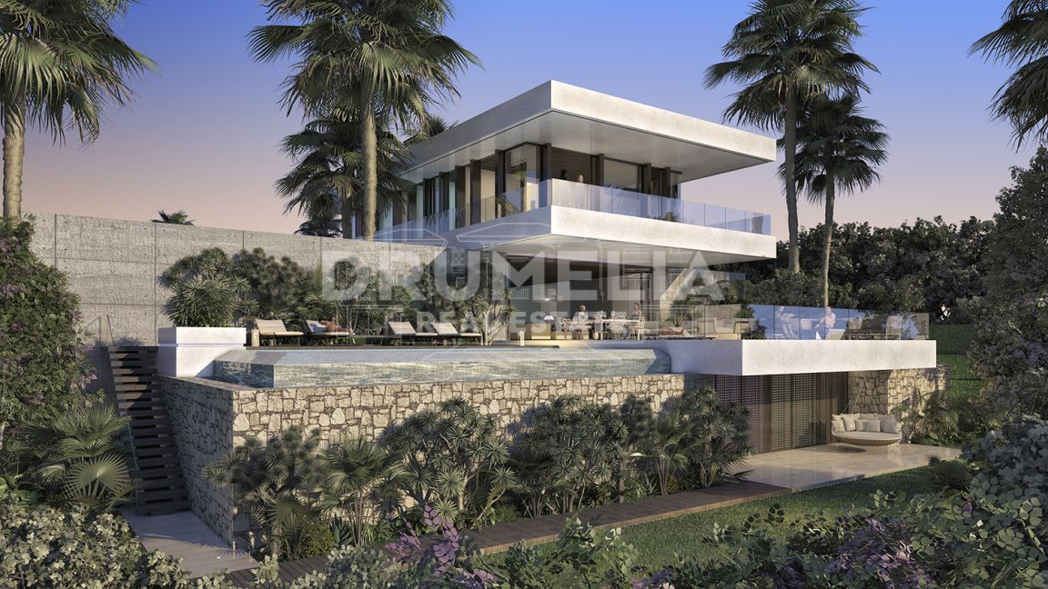 Benahavis, Fabulous Plot and Elegant Modern Luxury Villa Project, Los Flamingos, Benahavis