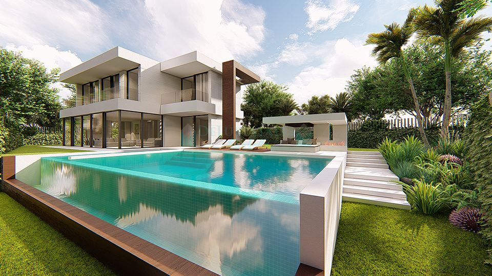 Set on 2 levels, this spacious Costa del Sol villa is going to be built using only the finest materials throughout.