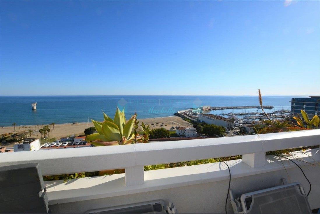 Duplex  2 bedrooms  penthouse in Marbella Center