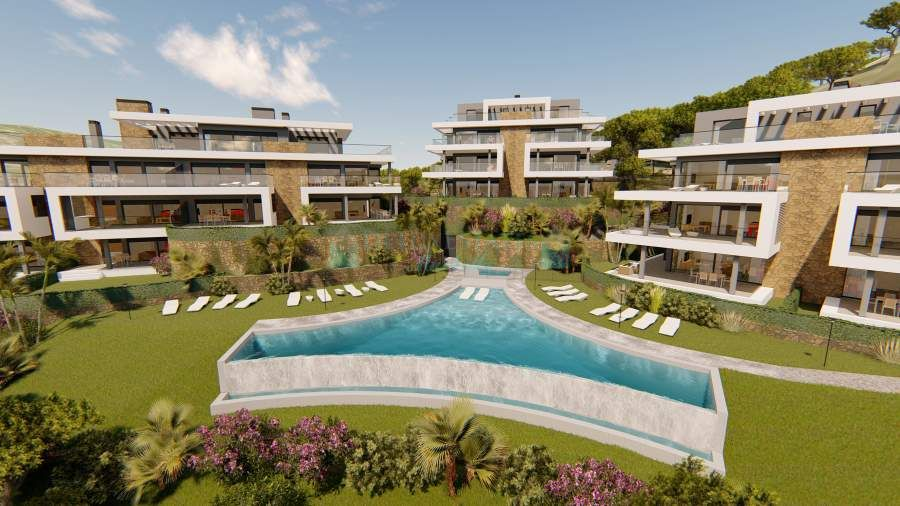 LAST 15 UNITS!!! LUXURY OFF PLAN DEVELOPMENT WITH STUNNING SEA & MOUNTAIN ON THE NEW GOLDEN MILE, ESTEPONA