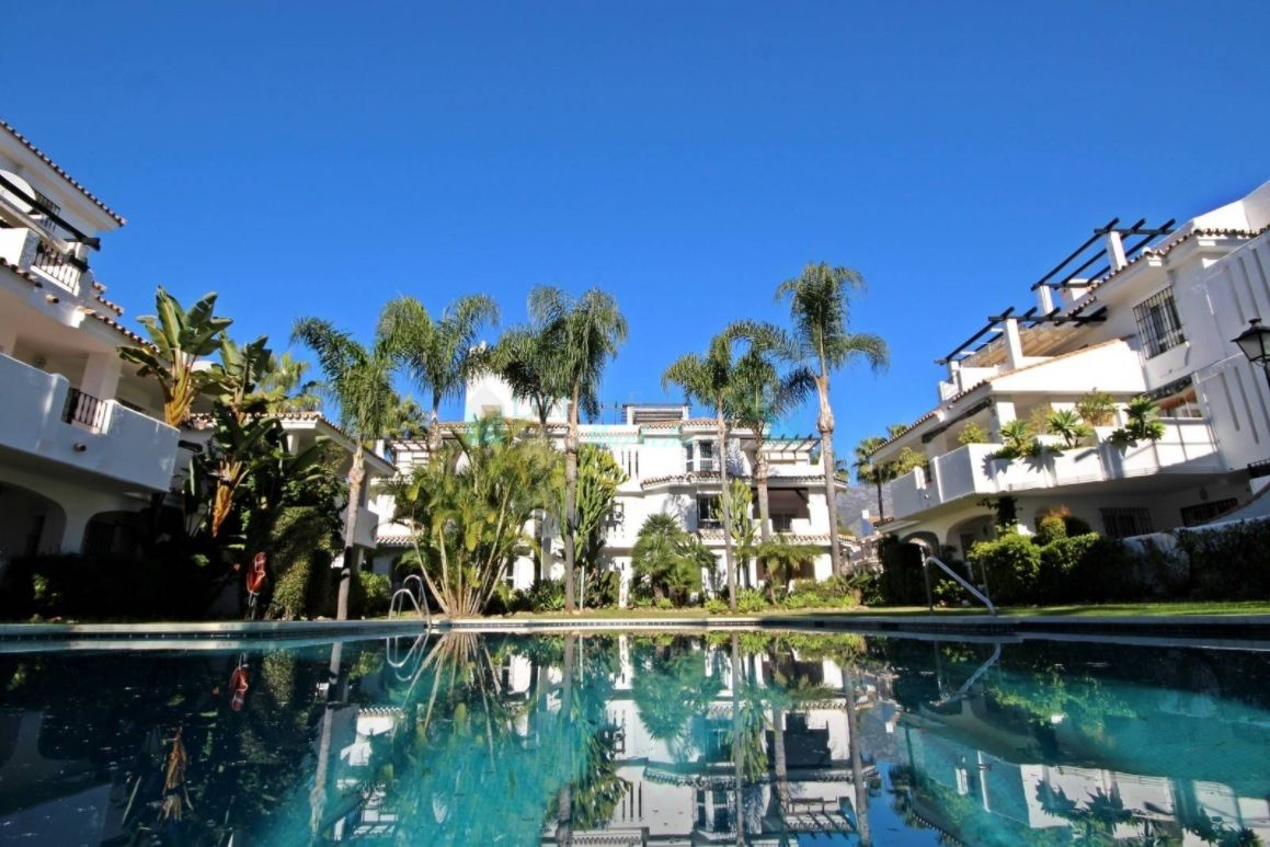 Beautiful duplex penthouse for sale and rent at Puerto Banus, Nueva Andalucia, Costa del Sol