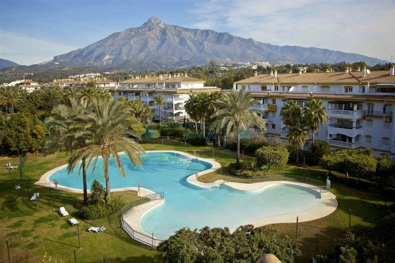 Ground floor apartment with 4 bedrooms in urb. Dama de Noche, within a short walk to Puerto Banus