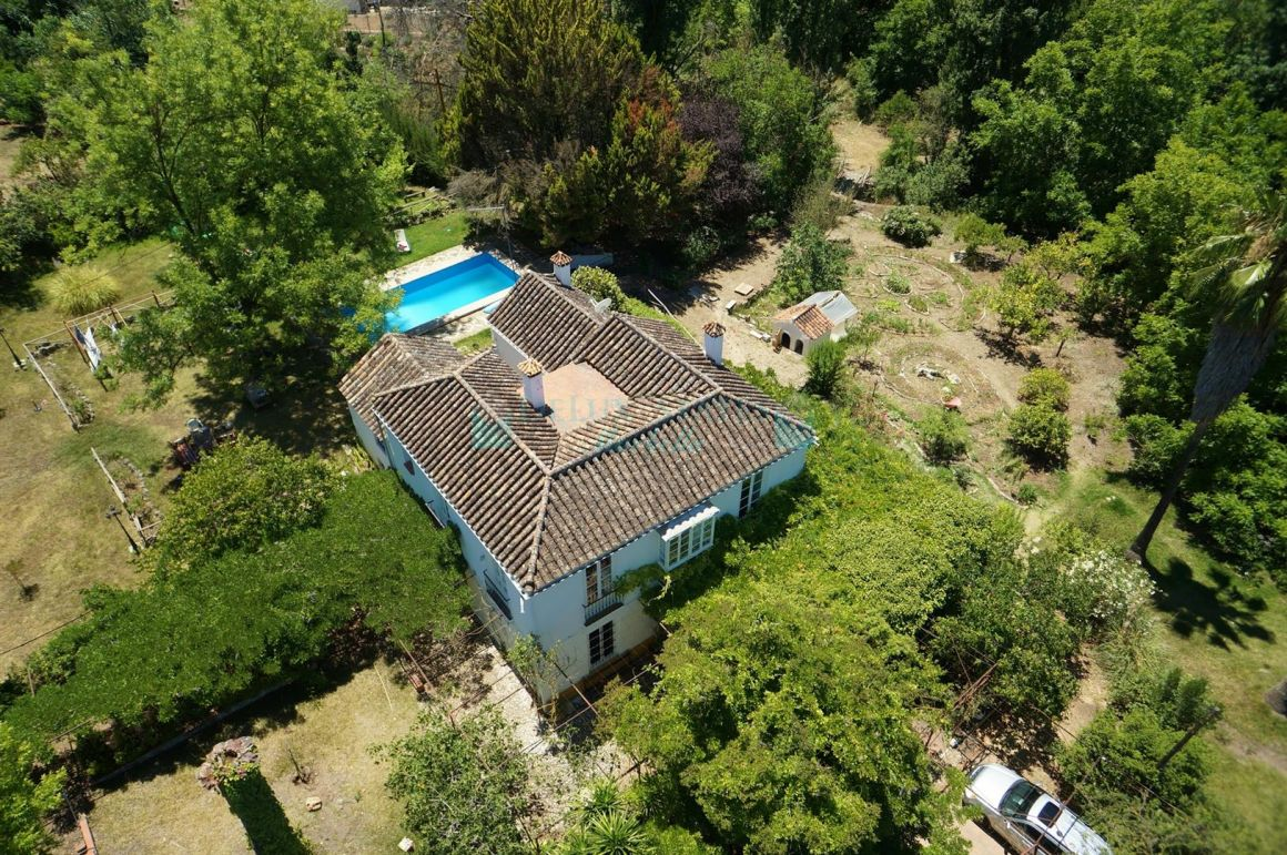 Rural property with huge plot for sale at Coin, near Marbella, Costa del Sol