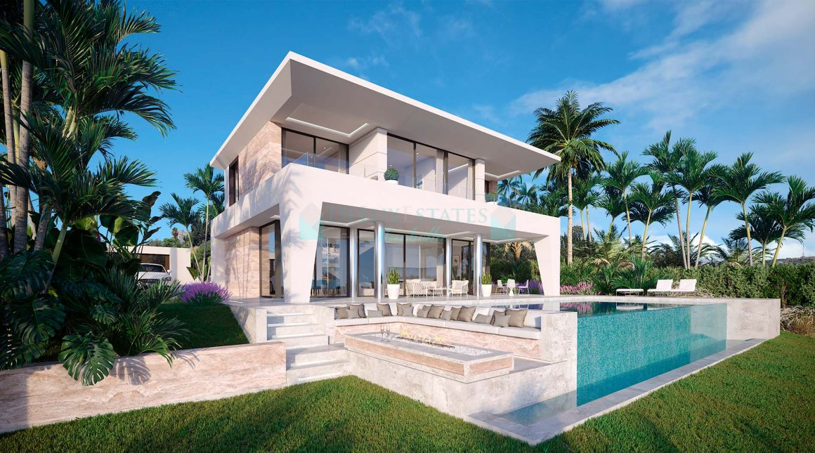 Modern and fresh luxury villa in Puerto de la Duquesa