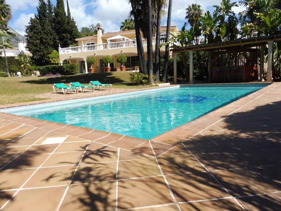 Villa for rent in  Nagüeles, Marbella Golden Mile