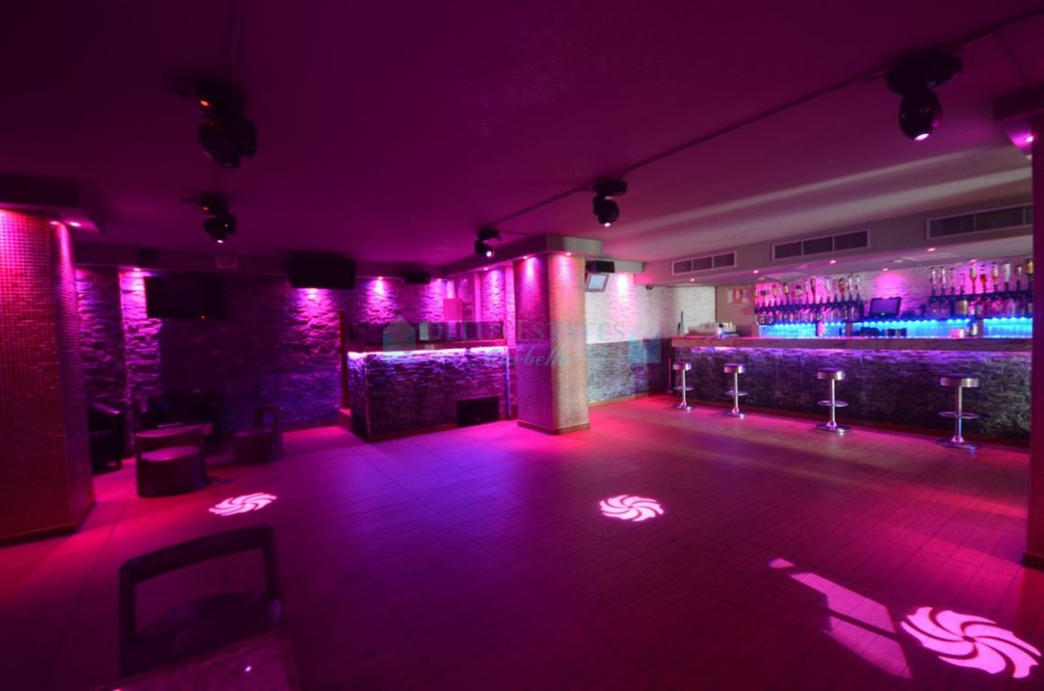 Discotheque for sale in Marbella - Puerto Banus