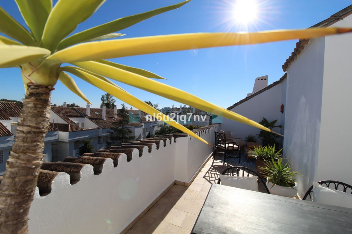 Penthouse for rent in  Guadalmina Baja, San Pedro de Alcantara