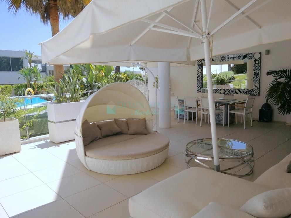Ground Floor Apartment for rent in  Sierra Blanca, Marbella Golden Mile