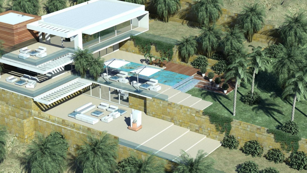 Benahavis, large plot with sea views for sale in El Madroñal, can be sold alone or with adjacent plot