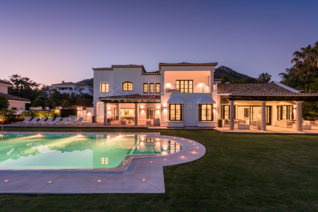 Marbella Golden Mile, Contemporary villa for rent in Sierra Blanca, a luxurious estate located only minutes from Marbella centre