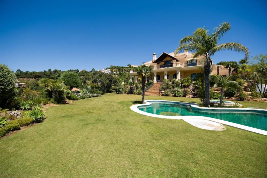 Benahavis, Majestic villa for rent situated in exclusive luxury development, La Zagaleta, Benahavis