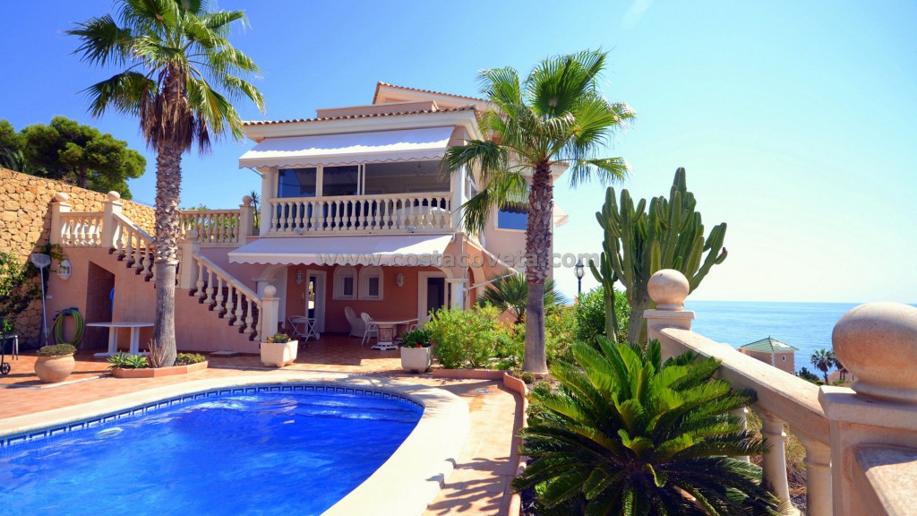 El Campello, Beautiful luxury villa with panoramic views  in the Coveta Fuma El Campello