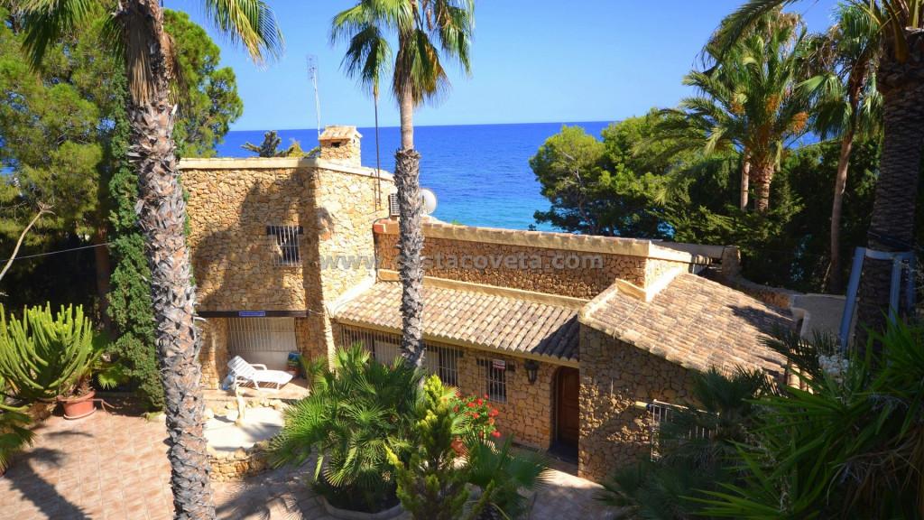 El Campello, A wonderful frontline beach villa  in  la Coveta Fuma - El Campello