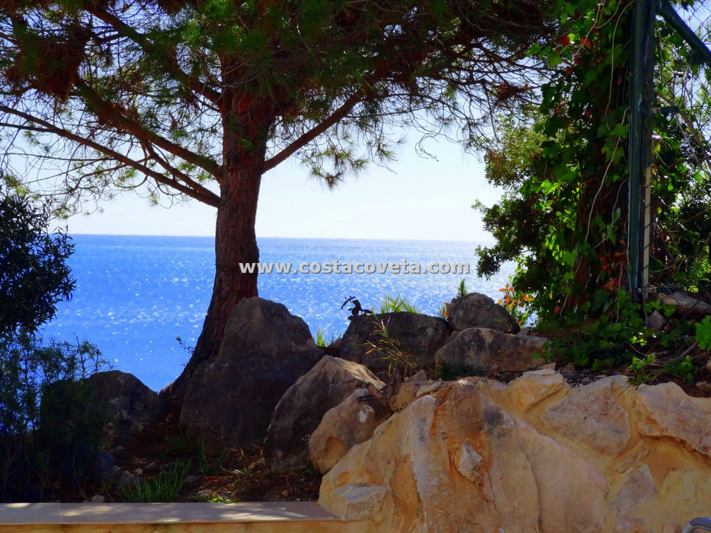 Spectacular modern villa with pool and impressive sea views at la Coveta Fuma