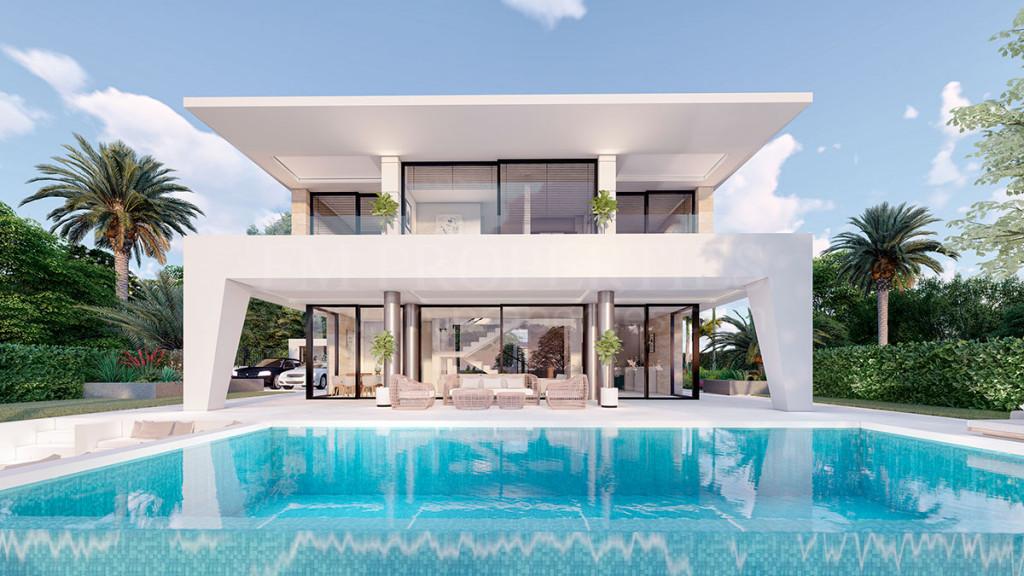 Villa  à vendre à  Los Hidalgos - Manilva Villa
