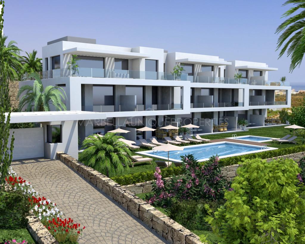 A stunning brand new penthouse in Mijas Costa