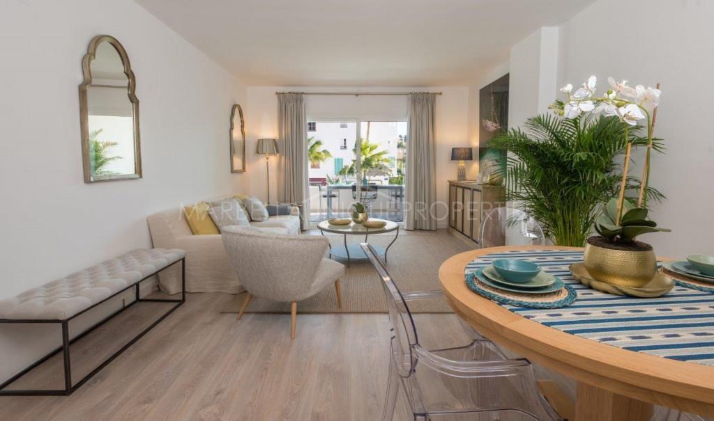 Apartamento a estrenar de 2 dormitorios en La Campana, Nueva Andalucía