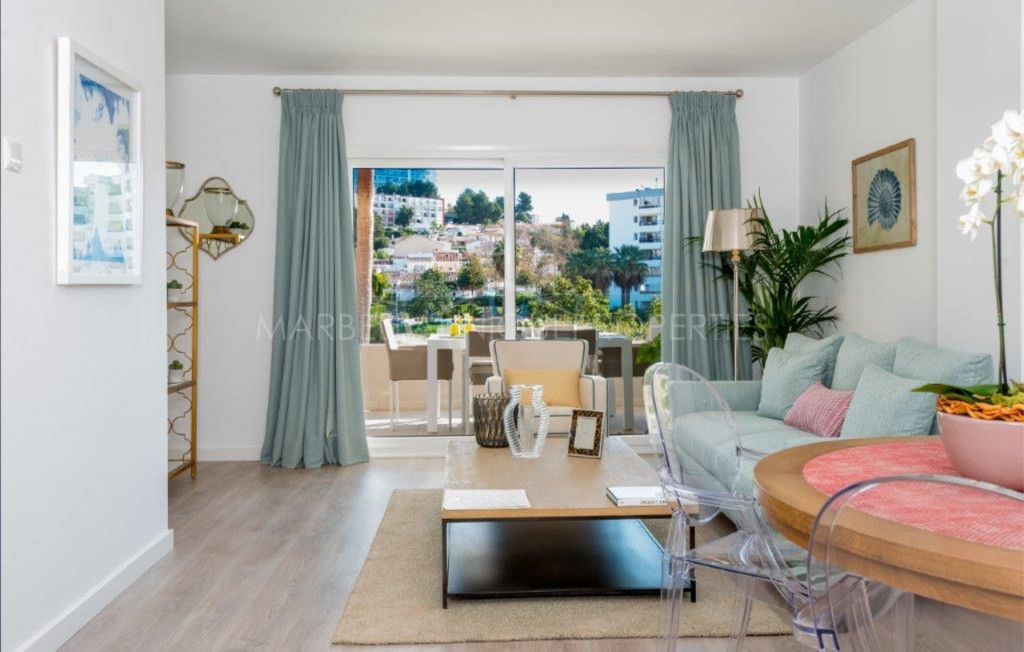 Apartamento a estrenar de 3 dormitorios en La Campana, Nueva Andalucía