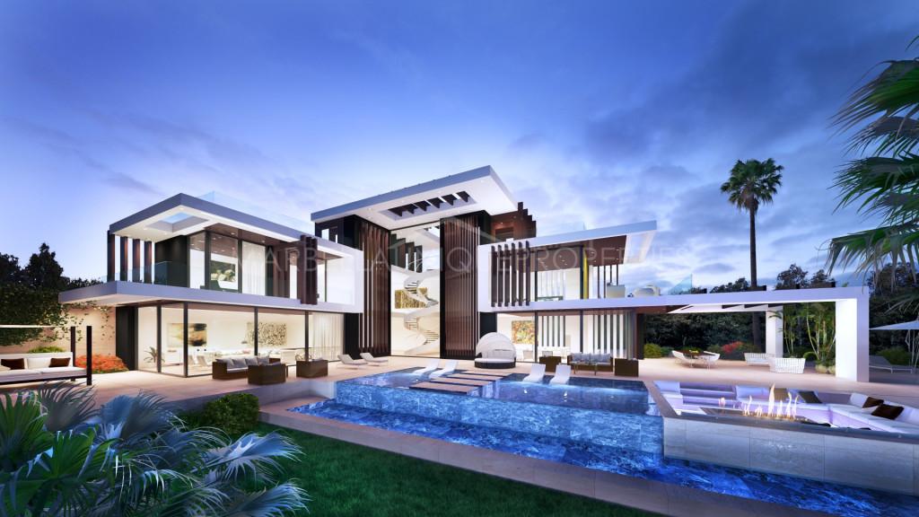 Brand new villa project in Los Almendros, Benahavis