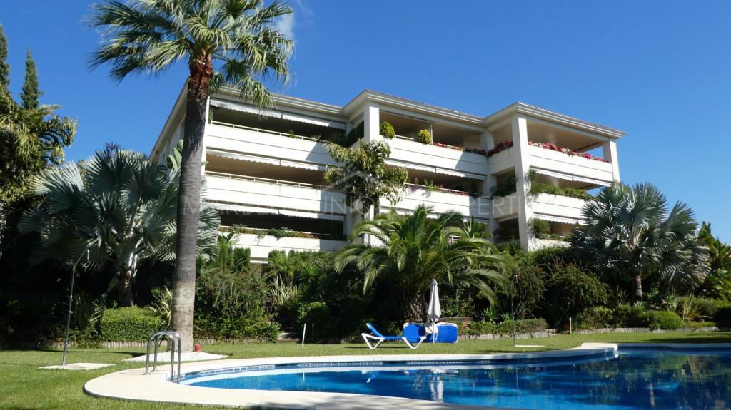 Un precioso apartamento con 3 dormitorios en Marbella centro