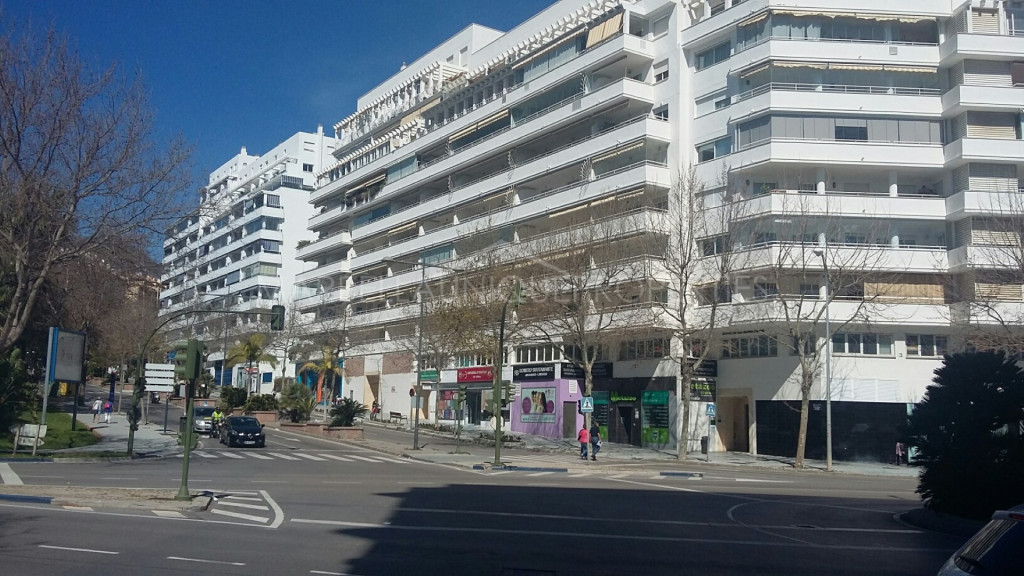 A commercial unit in Marbella town centre