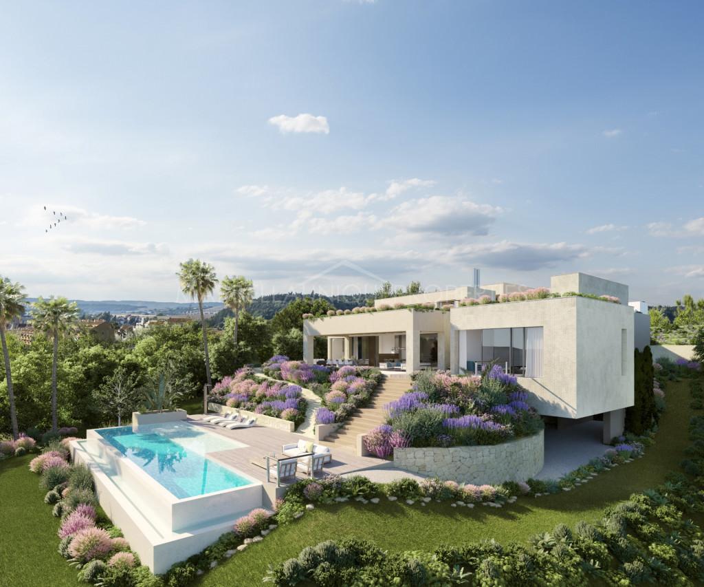 Asombrosa villa de cinco dormitorios a la venta en Los Flamingos Golf